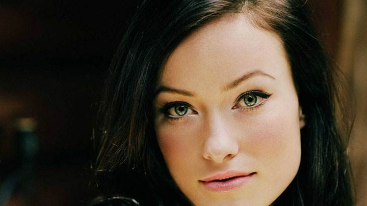 Olivia Wilde Smiling Pink Lips And Cute Eyes Face Closeup