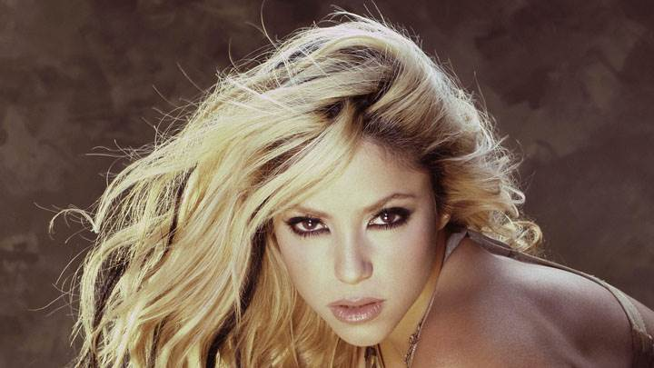 Shakira Looking Front Face Photoshoot