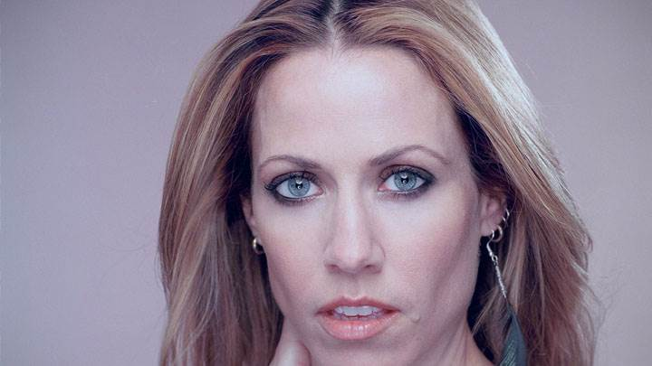 Sheryl Crow Looking Front And Cute Eyes Face Closeup
