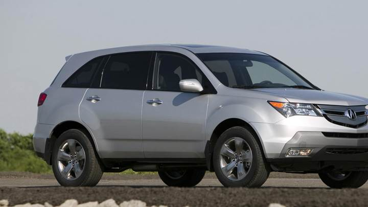 2008 Acura MDX 005 In Silver Front Side Pose