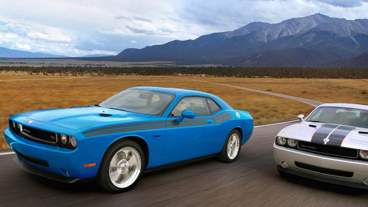 2009 Dodge Challenger RT Classic With Dodge Challenger Se Rallye