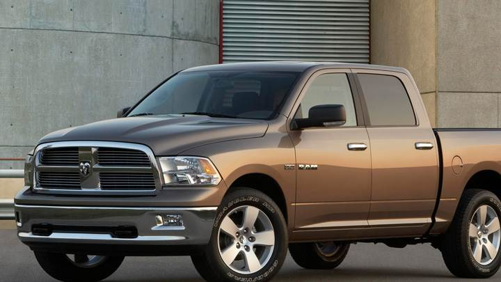 2009 Lone Star Edition Dodge Ram In Brown Side Front Pose