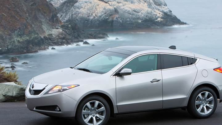 2010 Acura ZDX Near Sea Side In Silver