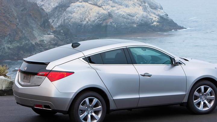 2010 Acura ZDX Side Pose Near Sea Side