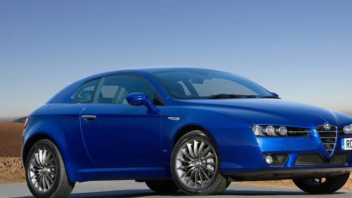 2010 Alfa Romeo Brera In Blue Side Front Pose