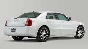 2010 Chrysler 300 S6 Side Back Pose In White