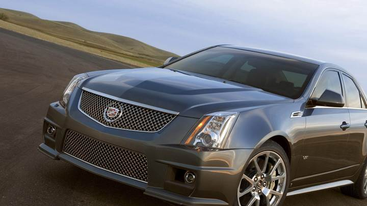 2011 Cadillac CTS-V Front Pose in Brown