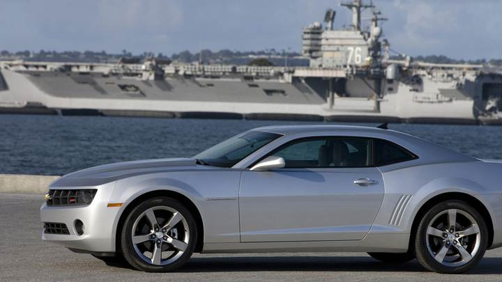 2011 Chevrolet Camaro Near Sea Side in Silver Color