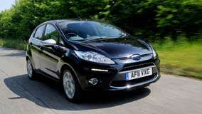 2011 Ford Fiesta Centura Running In Black