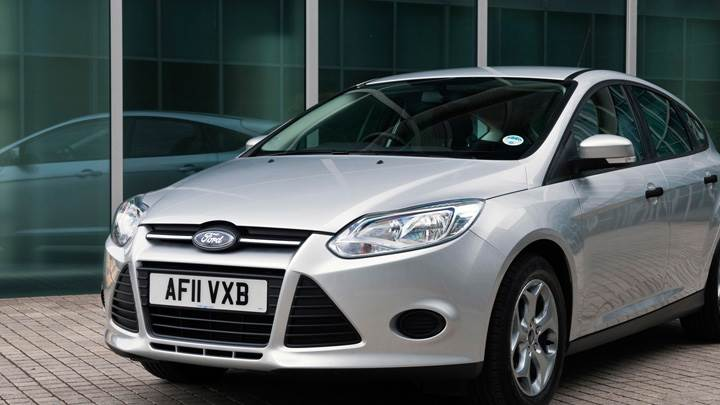 2011 Ford Focus Studio In Silver Front Pose