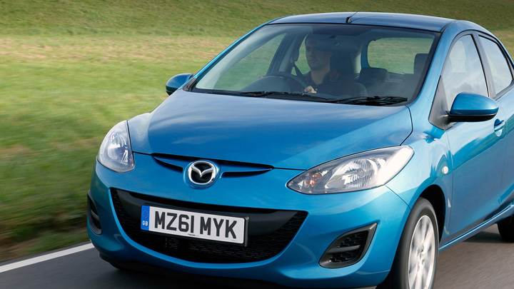 2011 Mazda 2 1.5 TS2 Automatic in Blue Front Pose