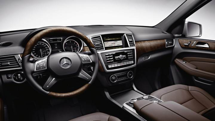 2012 Mercedes-Benz M-Class Accessories Interior