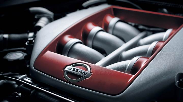 2012 Nissan GT-R Engine Closeup