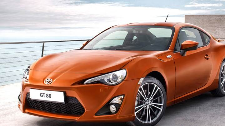 2012 Toyota GT 86 In Orange Front Side Pose