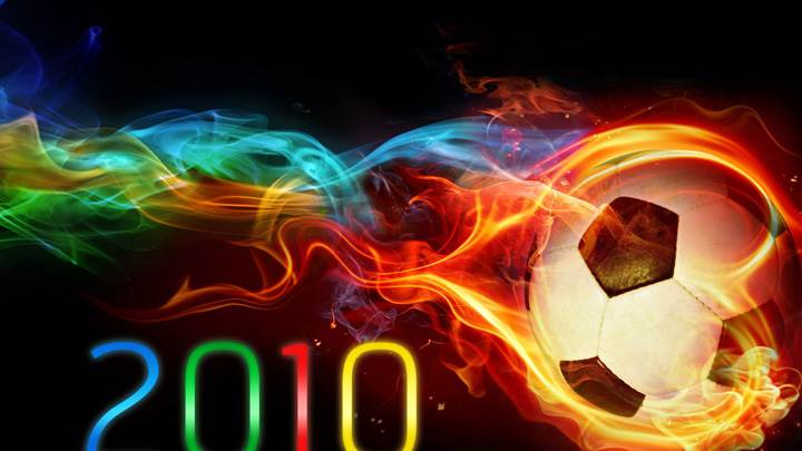 Burning Football FIFA 2010