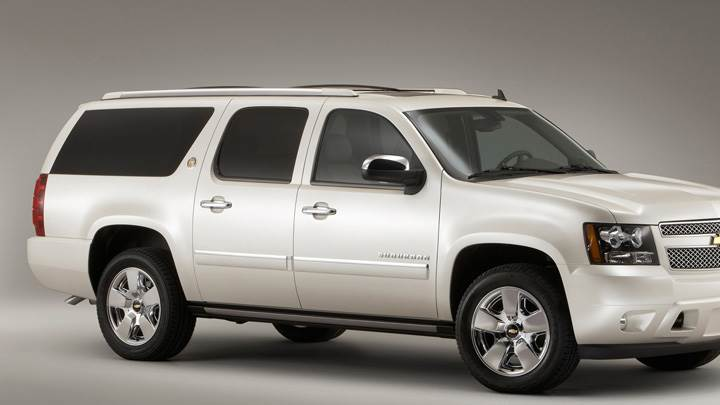 Chevrolet Suburban 75th Anniversary Diamond Edition 2010 Side Pose