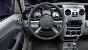 Dashboard Of 2009 Chrysler PT Cruiser