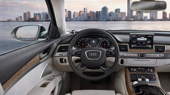 Dashboard Of 2011 Audi A8