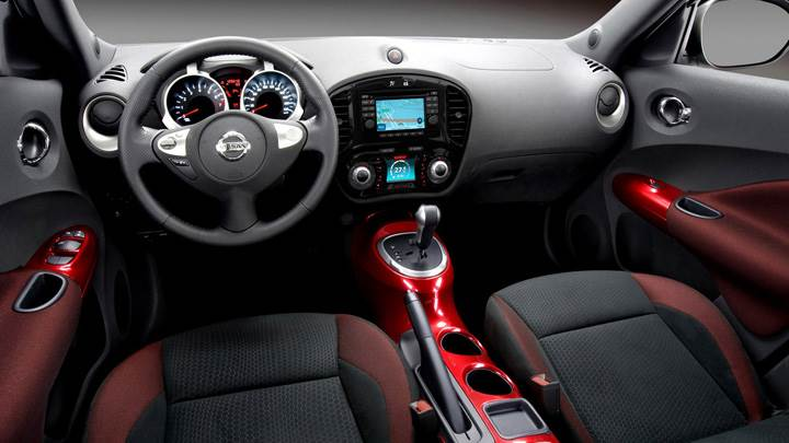 Dashboard Of 2011 Nissan Juke
