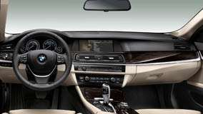 Dashboard Of 2012 BMW ActiveHybrid 5