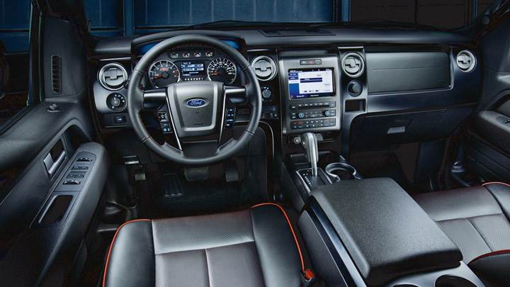 Dashboard Of 2012 Ford F-150