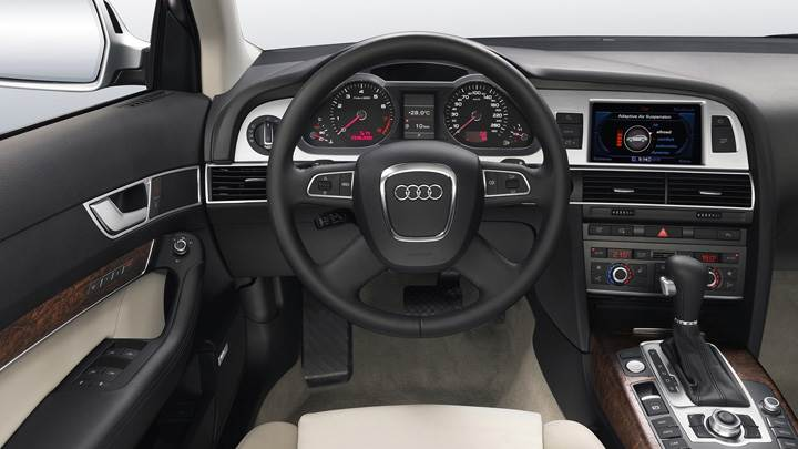 Dashboard Of 580PS Audi RS 6