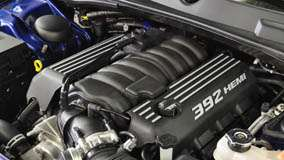 Dodge Challenger SRT8 Engine Closeup
