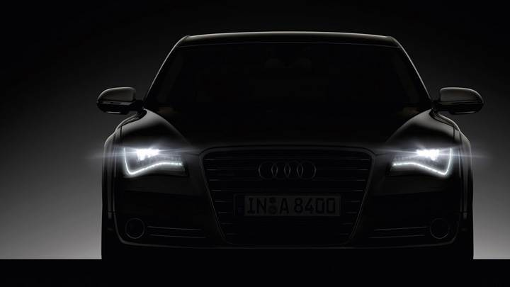 Front Headlights On 2011 Audi A8