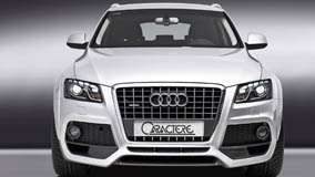Front Pose Of 2009 Audi Q5 Caractere In White