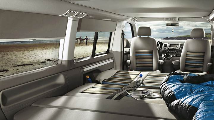 Interior Of 2012 Volkswagen California Beach