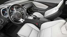 Interior of 2011 Chevrolet Camaro And Seats