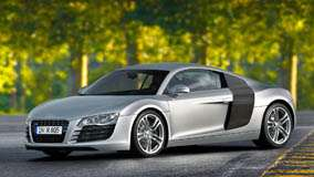 Side Pose Of 2006 Audi R8 In Silver