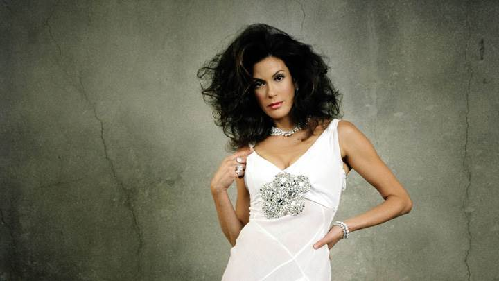 Teri Hatcher In White Dress Photoshoot In NY Times Magazine