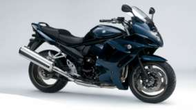 2011 Suzuki GSX1250FA In Black Color Side Pic