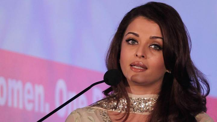 Aishwarya Rai Speaking Of Speech On Stage Looking Beautiful