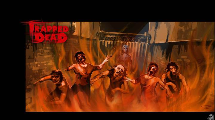 Burning Zombies In Alley – Trapped Dead