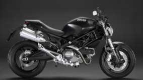 Ducati Monster Side Photo