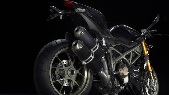 Ducati Streetfighter in Black Color