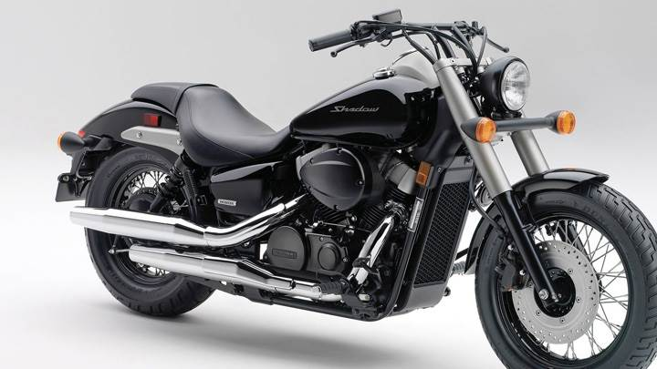 Honda Shadow Phantom in Black Color