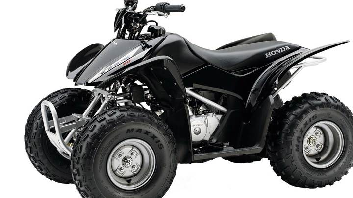 Honda TRX 90 Quad Bike In Black COlor