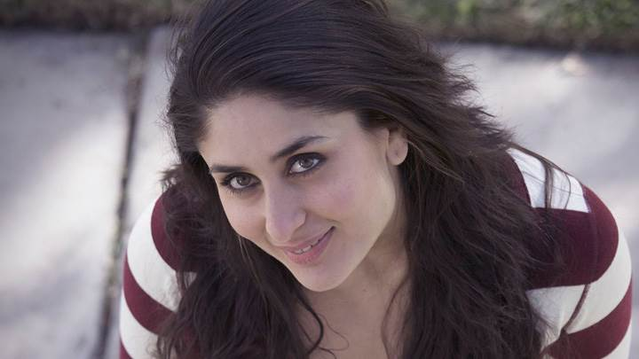 Kareena Kapoor Looking At Camera Smiling Photoshoot