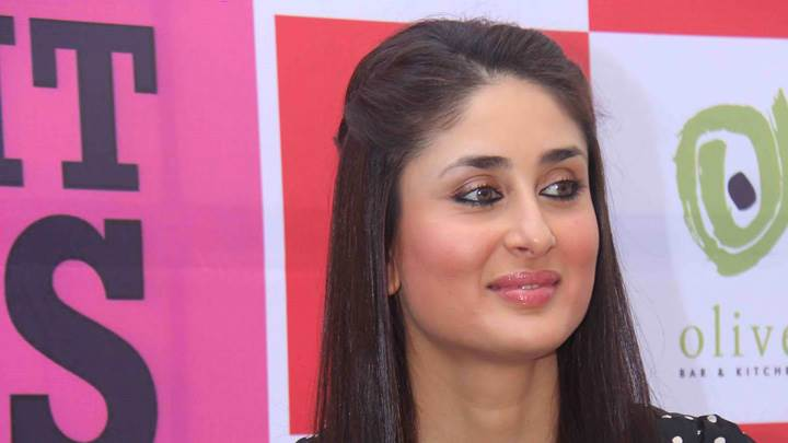 Kareena Kapoor Smiling Pink Lips Face Closeup At Event