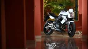 Kawasaki Ninja 650R In White