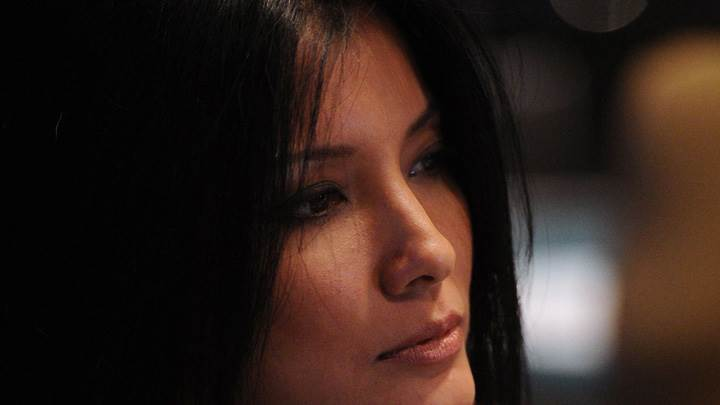 Kelly Hu Cute Side Face Closeup