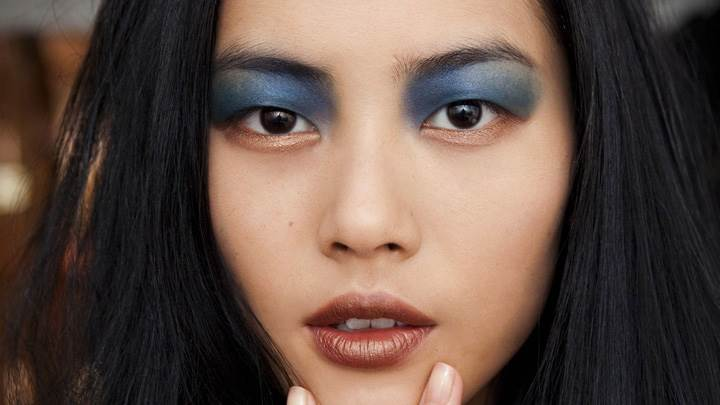 Liu Wen Looking At Camera Face Closeup