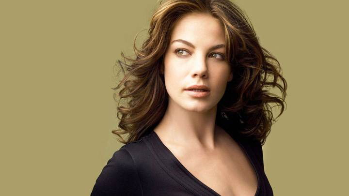 Michelle Monaghan In Black Top Photoshoot