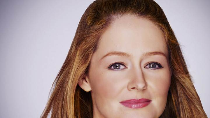 Miranda Otto Smiling Pink Lips Cute Eyes Face Closeup