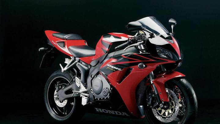 Red Color Honda CBR 1000RR Front Side Pose