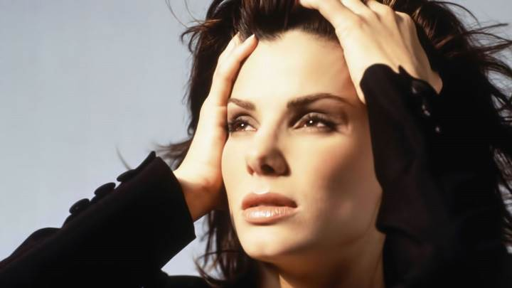 Sandra Bullock Wet Lips Looking Sun Rays Photoshoot