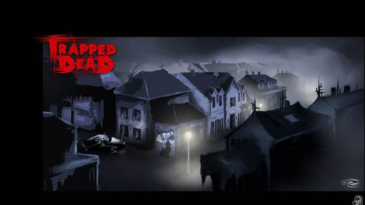 Spooky Street in Night – Trapped Dead